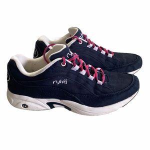 Ryka Blue Canvas Running Sneaker